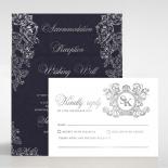 Baroque Romance Invitation Design