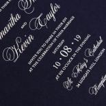 Baroque Romance Wedding Invitation Design