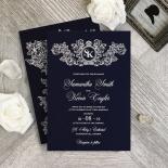 Baroque Romance Wedding Invitation Card Design