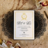 Black Doily Elegance Design