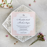 Blooming Charm Wedding Card Design