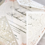 Blooming Charm Wedding Invitation Card Design
