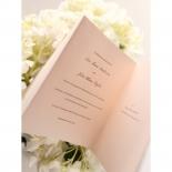 Blush Blooms Wedding Invite Card