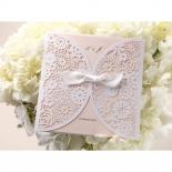 Blush coloured summer themed wedding invitations