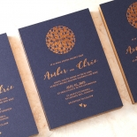Bohemia Stunning invitation card