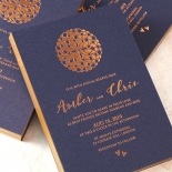 Bohemia Invitation Card