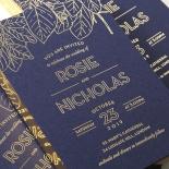 Botanical Canopy Invite Card Design