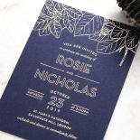 Botanical Canopy Invite Card