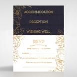 Botanical Canopy Wedding Invite Design
