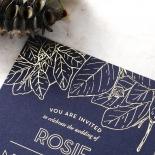 Botanical Canopy Wedding Card