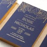 Botanical Canopy Wedding Invitation Design