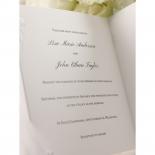 Bridal Romance Wedding Card Design