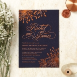 Bursting Bloom Invite Design