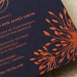 Bursting Bloom Wedding Invite Design