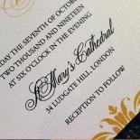 Charming Lace Frame Invite Card Design