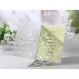 Charming Laser cut Garden Wedding Invitation