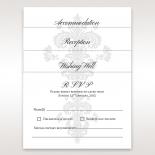 Bridal classic damask inspired stationery