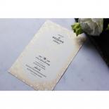 Contemporary Glamour Wedding Invitation