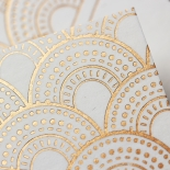 Contemporary Glamour Wedding Invitation Design
