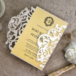 Damask Love Invite Card Design
