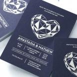 Digital Love Stunning invitation card