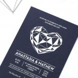 Digital Love Stationery invite