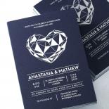 Digital Love Stationery card design