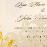 Divine Damask Invite Card Design