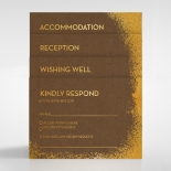 Dusted Glamour Stationery design