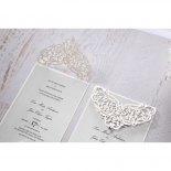 Two Victorian inspired laser cut invite cropped