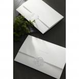 Elegant Seal Wedding Invite Card