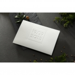 Embossed Date Wedding Invitation Card
