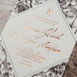 English Rose Wedding Invite