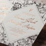 English Rose Invitation Card Design