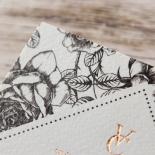 English Rose Wedding Card