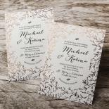 Fleur Wedding Invitation