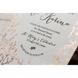 Fleur Wedding Invite Card Design