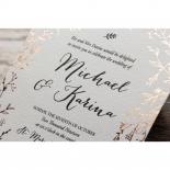Fleur Wedding Invite Design