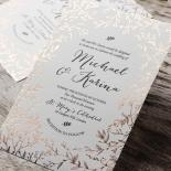 Fleur Invitation Card