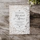 Fleur Wedding Invitation Card Design