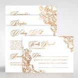 Flourishing Garden Frame Wedding Card Design