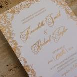 Flourishing Garden Frame Invite Card Design