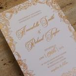Flourishing Garden Frame Card Design