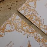 Flourishing Garden Frame Invitation Card Design