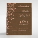 Flourishing Romance Wedding Invite