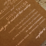 Flourishing Romance Invitation