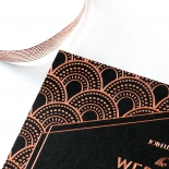 Gatsby Glamour Wedding Invite Card