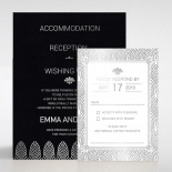 Gilded Decadence Wedding Invite Card Design