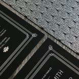 Gilded Decadence Wedding Invitation Design