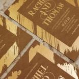 Gilded Stroke Stunning invitation card